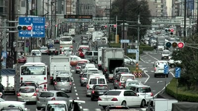 stock-footage-kyoto-japan-circa-timelapse-view-rush-hour-traffic-jam-circa-in-kyoto-japan
