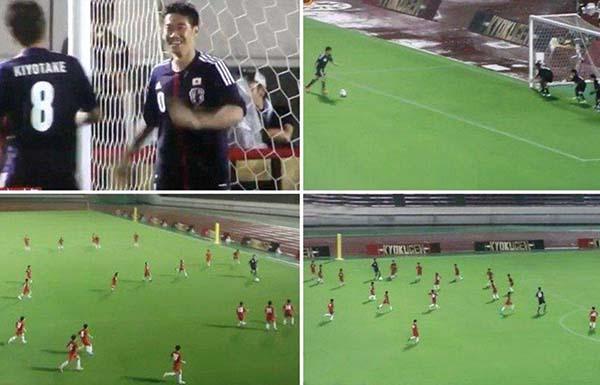 Shinji Kagawa & Hiroshi Kiyotake VS 55 Kids