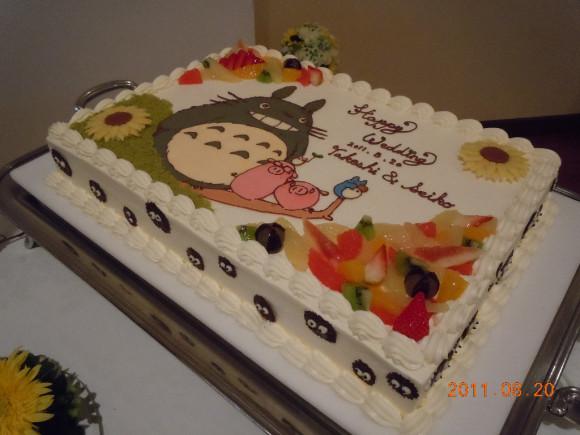 totoro-cake