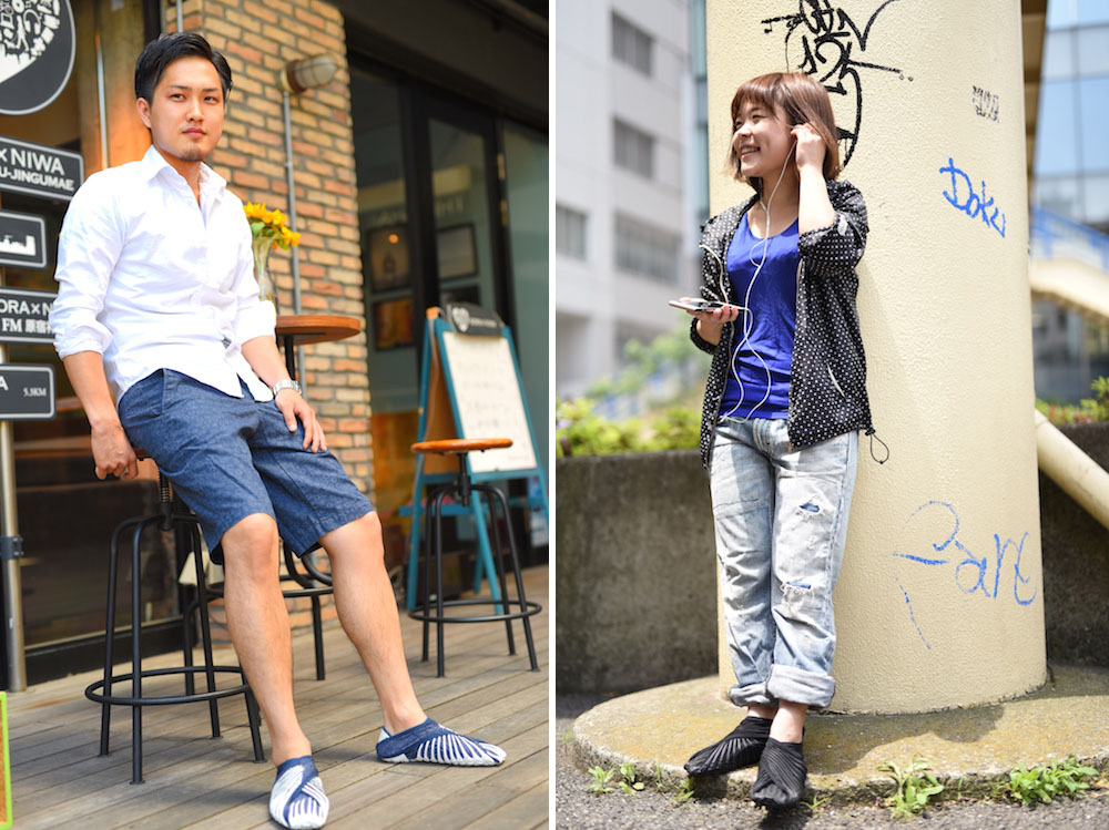 furoshiki-chaussures-envelopper