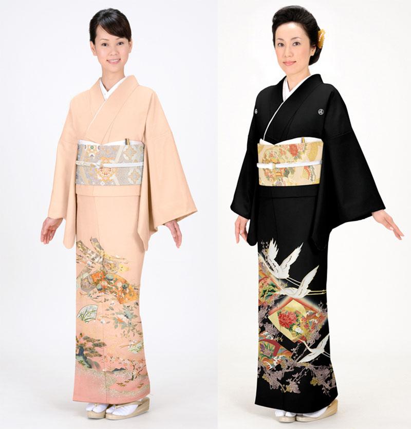 tomesode-kimono