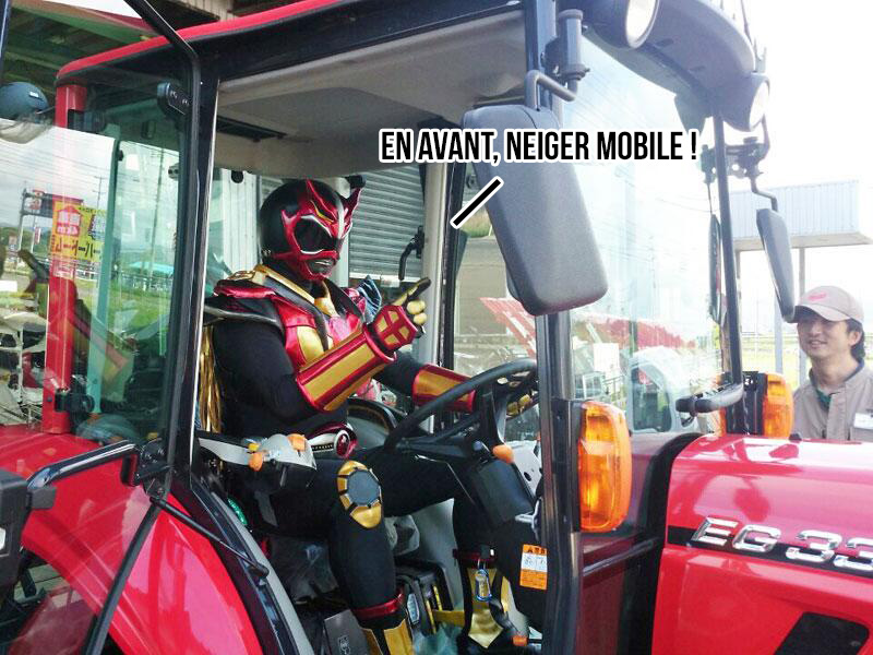 Mais combien d'entre eux peuvent se la raconter en tracteur ?