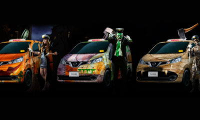 taxis-halloween-tokyo-japon-nissan
