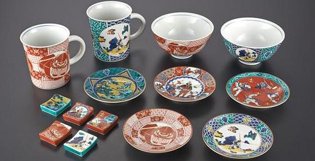 gundam-kutani-service-porcelaines