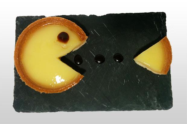 Tarte au citron Pacman