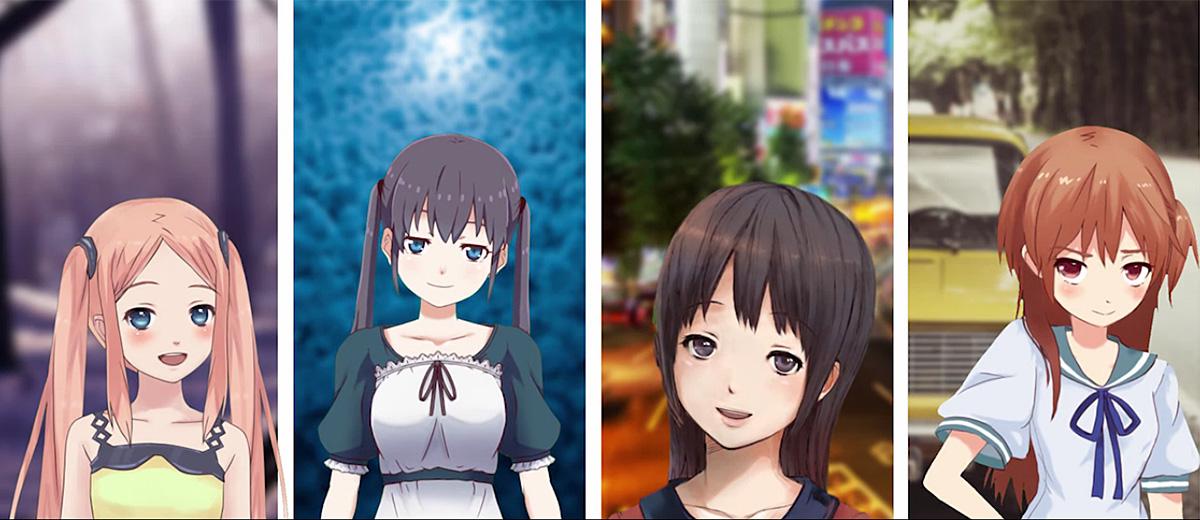 facerig-personnage-anime-japon-application