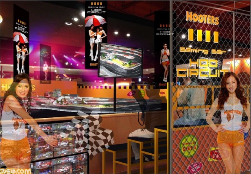 hooters-tokyo-game-center-shibuya2