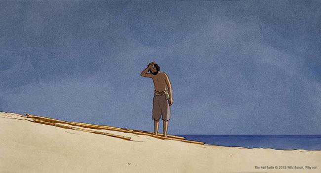 Le film racontera la vie d'un homme vivant sur une île deserte