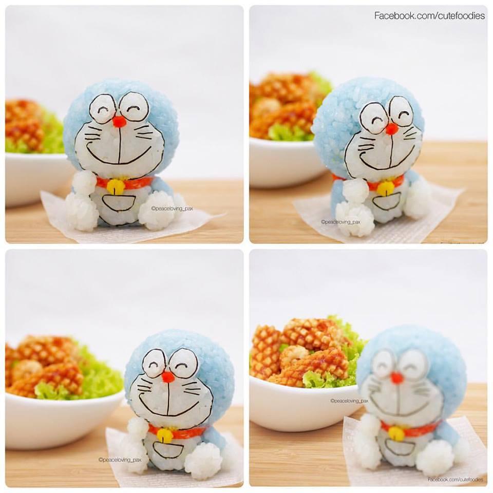 Impossible de ne pas reconnaitre le célèbre robot-chat Doraemon