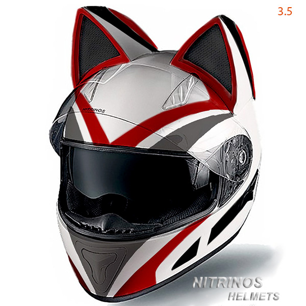 Pilotez Votre Moto Avec Style Grâce à Ce Casque Neko