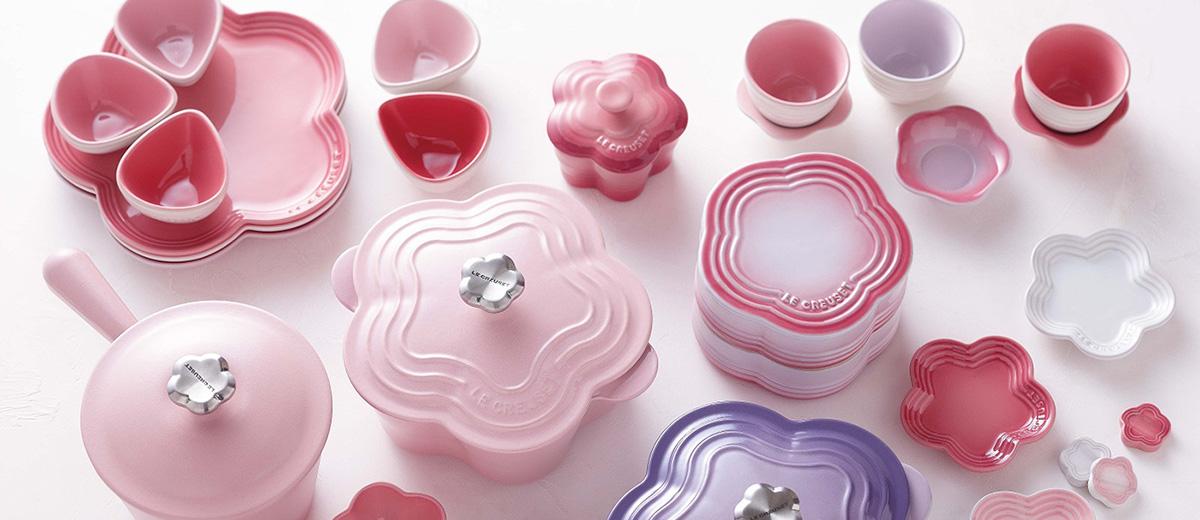 le-creuset-flower-collection-sakura-cerisier-cuisine-Japon