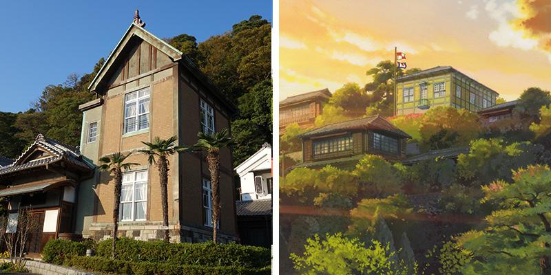 lieux-visite-japon-ghibli-colline-aux-coquelicots