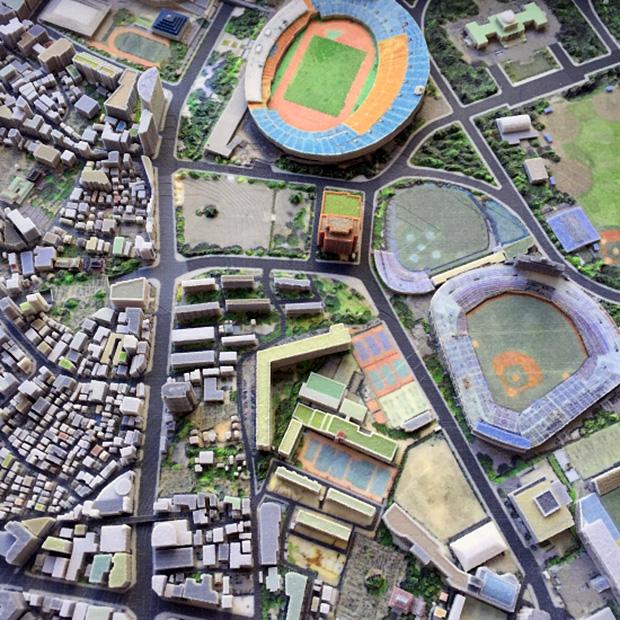 quartier-jingu-stade-tokyo-impression-3d