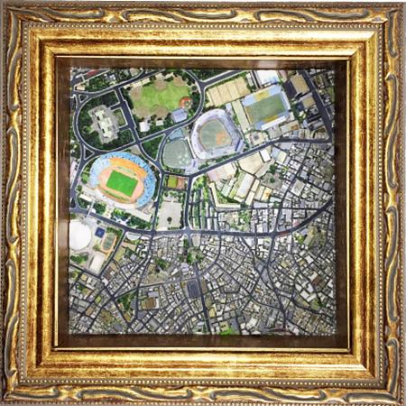 quartier-jingu-stadium-tokyo-tableau-3d