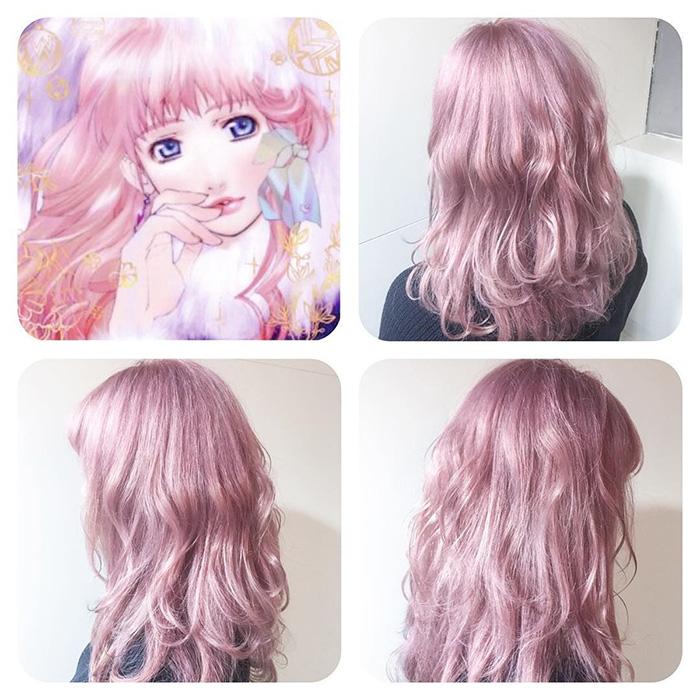 « Sheryl Pink » est un couleur basée sur celle de Sheryl Nome de la série anime Macross Frontier