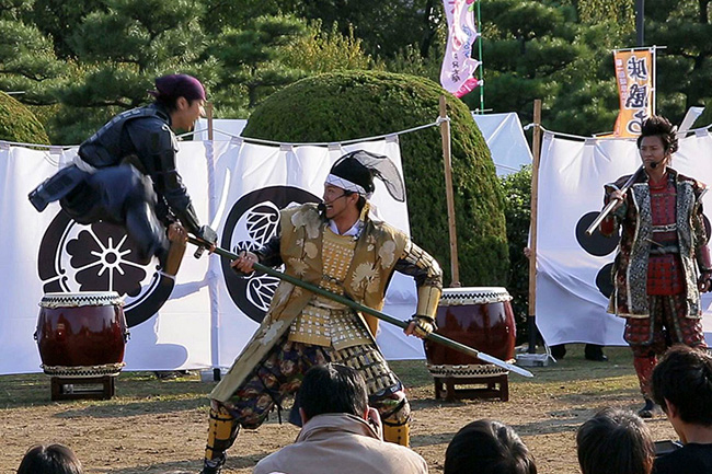 samourai-ninja-show-asakusa-tokyo-Japon2 (2)