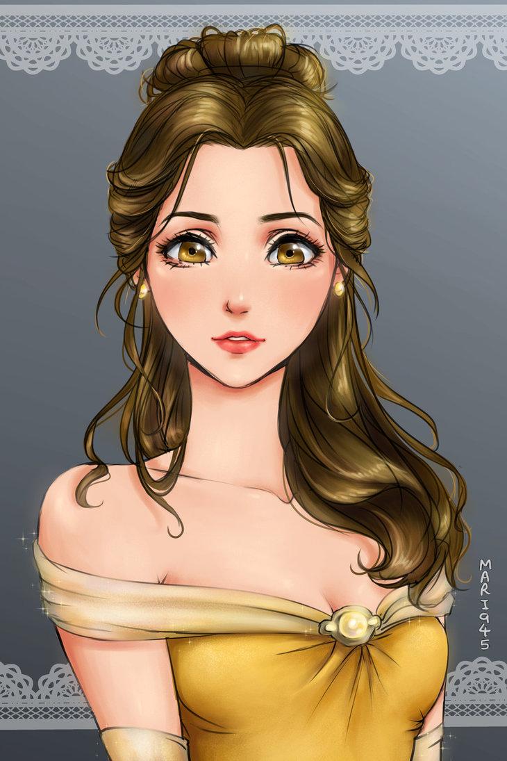 Belle-disney-manga