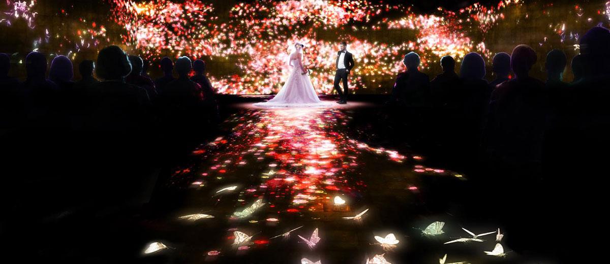mariage-projection-numerique-japon-team-lab