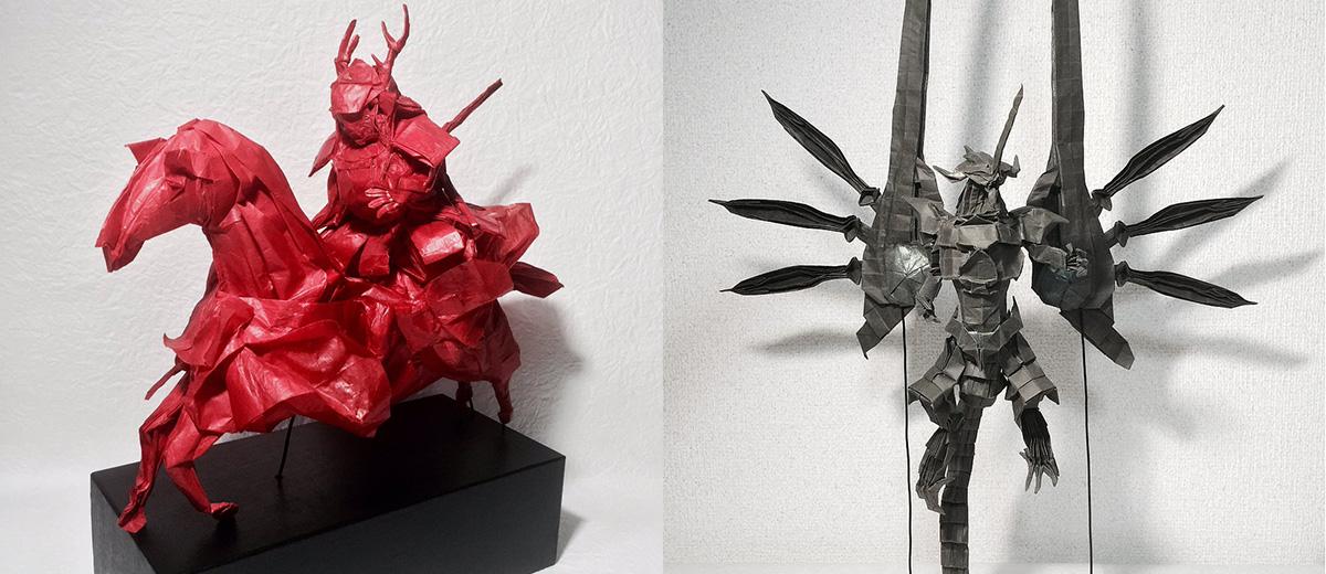origami-ezuno-artiste-japonais-papier-pliage