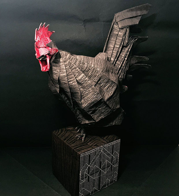 poule-origami
