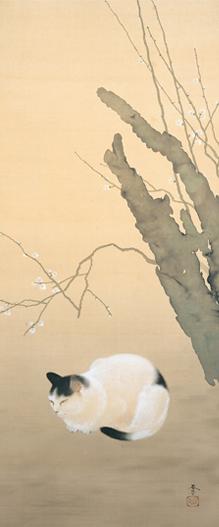 hishida-peinture-chats (1)