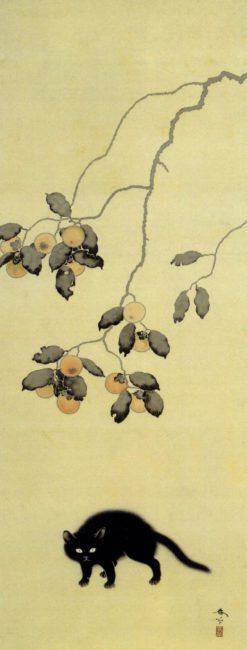 hishida-peinture-chats (4)