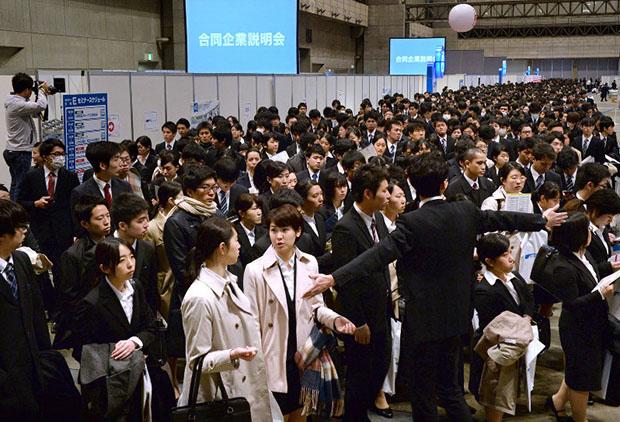 étudiants-japonais-emploi-travail-japon