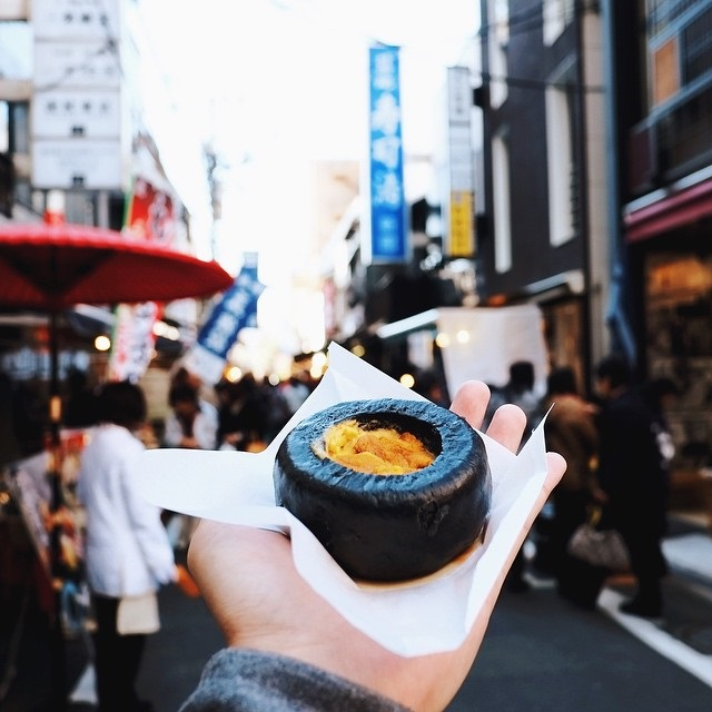Oursin, Marché au poisson de Tsukiji (Tokyo)