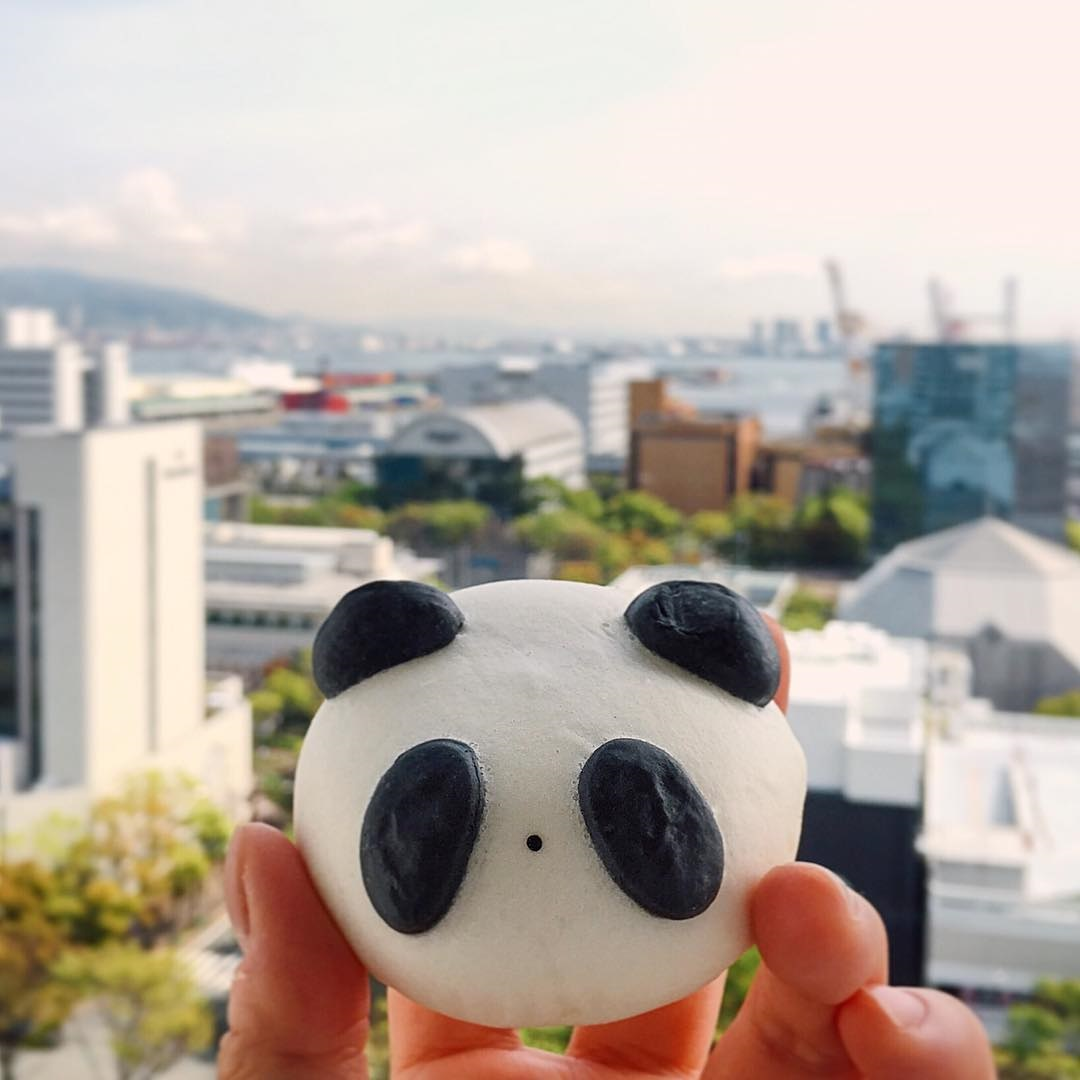 Pain panda, Nankinmachi (Kobe)