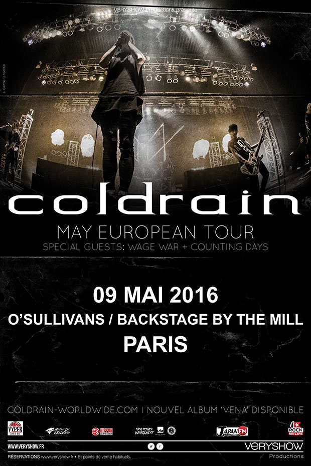 Affiche_COLDRAIN+Guests_Paris