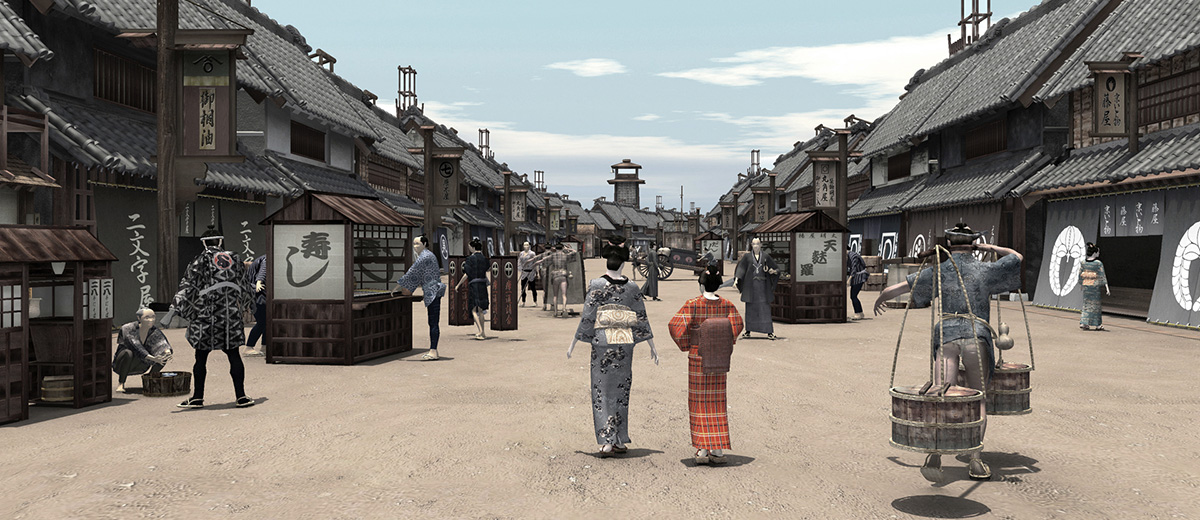 edo-tokyo-samourai-VR-realite-virtuelle-Japon