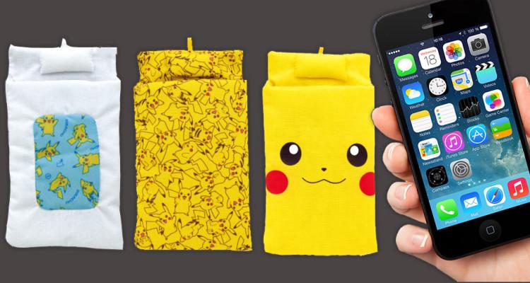 futon-pikachu-pokemon-telephone-portable