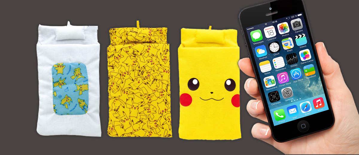 futon-pikachu-pokemon-telephone-portable