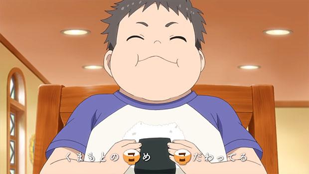 "Kumamoto no ""KO"" -me, ""KO"" -dawatteru (Le riz de Kumamoto est produit avec le plus grand soin.)"