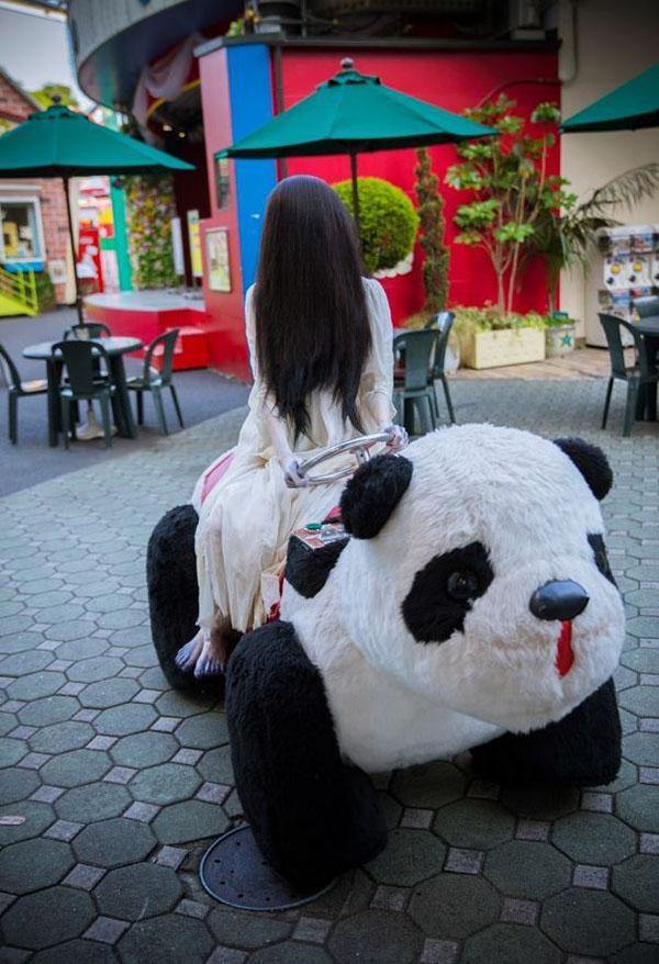 Un petit tour de voiture panda