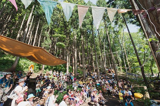 Des concerts en pleine forêt
