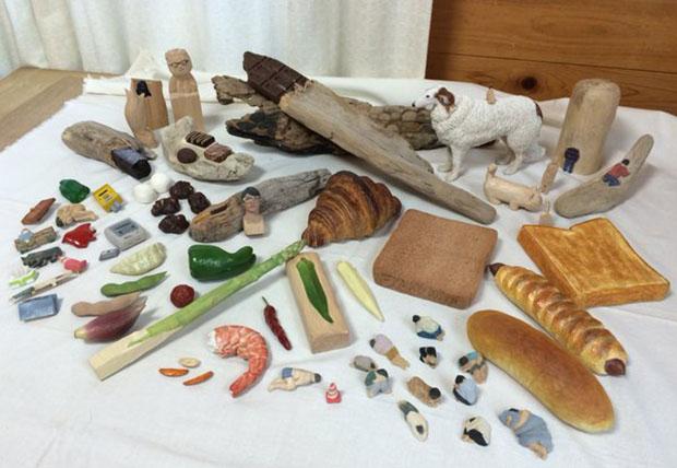 sculpture-nourriture-bois