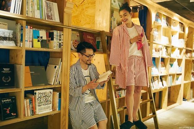 Des pyjamais originaux sont également vendus sur place