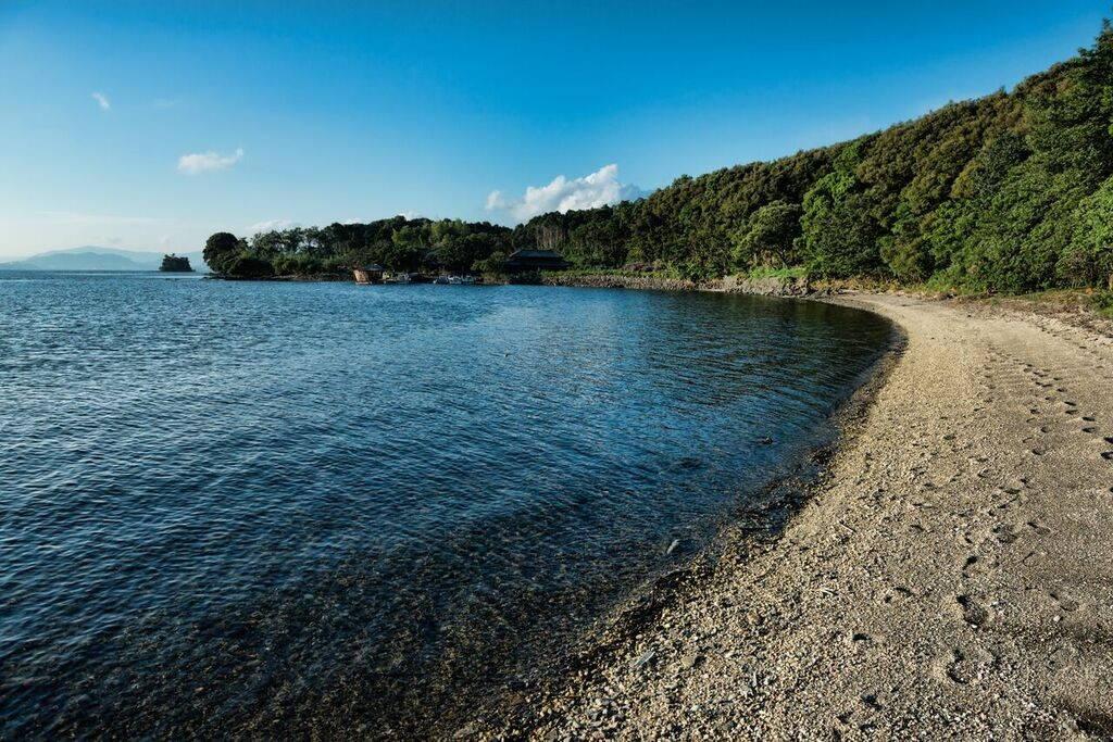 Les plages de l'île sont disponibles pour un usage privé, à tout moment de la journée ou de la nuit.