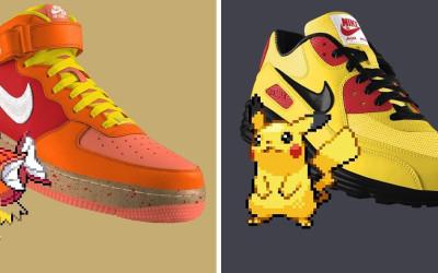 chaussures-nike-pokemon-nikeID-baskets-sneakers
